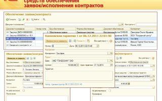 Бухгалтерский учет обеспечения участия в электронных торгах