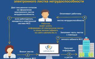 Электронные больничные листы. процедура оформления