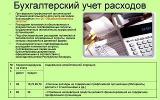 Бухгалтерский и налоговый учет расходов на создание сайта
