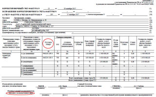 Нумерация счетов-фактур в 2018 году