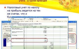 Бухучет в туризме. налоговый учет, счета, проводки