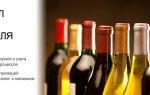 Учет алкогольной продукции 2018