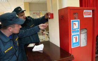 Проверка пожарной безопасности. порядок проведения