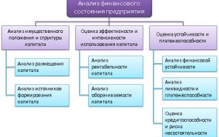 Анализ финансового состояния предприятия