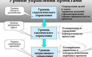 Системы управления проектами в компании. внедрение, краткий обзор