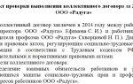 Акт проверки выполнения коллективного договора. образец, бланк 2018 года